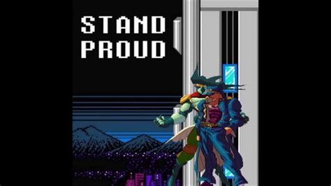 Stardust Crusaders  Stand Proud (8bit Cover) Youtube