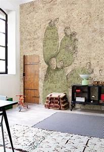 Carta Da Parati Murales : arredare con le piante grasse architettura e design a roma ~ Frokenaadalensverden.com Haus und Dekorationen