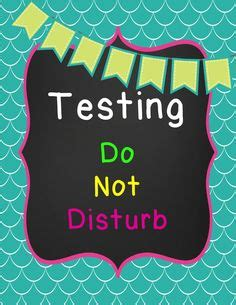 great test signs images classroom decor classroom