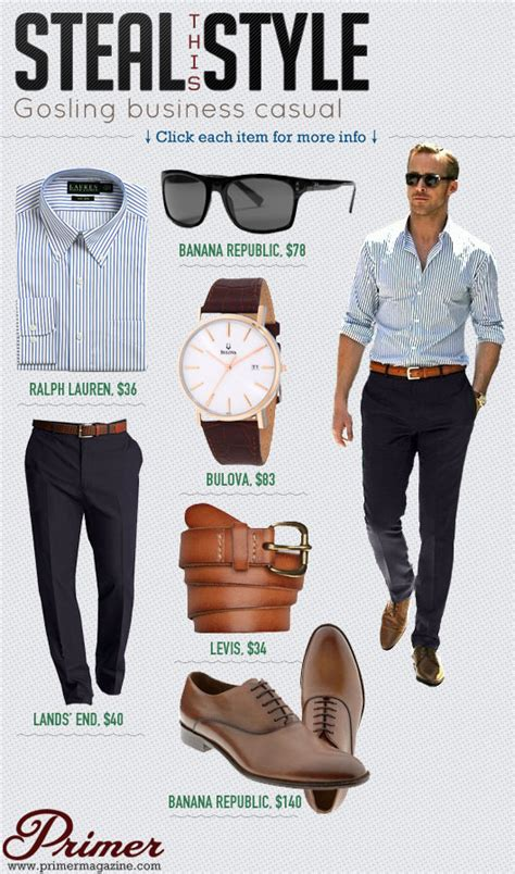 Steal This Style Gosling Business Casual Primer