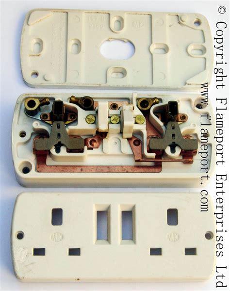 mk  double socket outlet