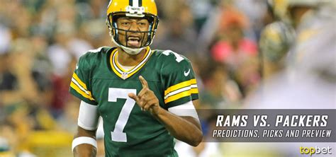 rams  packers  nfl preseason predictions picks odds