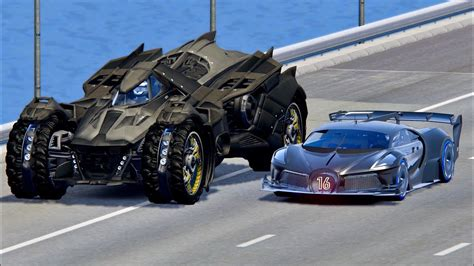 Угнал 9 чит bugatti с автосалона мажора за 180 секунд! Bugatti Black Devil VGT vs Batmobile - Drag Race 20 KM - YouTube