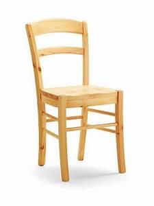 Chaise En Pin : av127 chaise rustique en pin sediarreda ~ Teatrodelosmanantiales.com Idées de Décoration