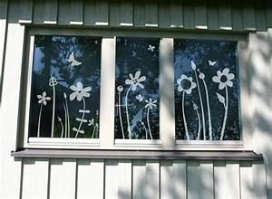 Frühlingsdekoration Ideen Fürs Fenster : weiteres fenstertattoo motiv 39 bl mchenwiese 39 ein designerst ck von lovala bei dawanda ~ Orissabook.com Haus und Dekorationen
