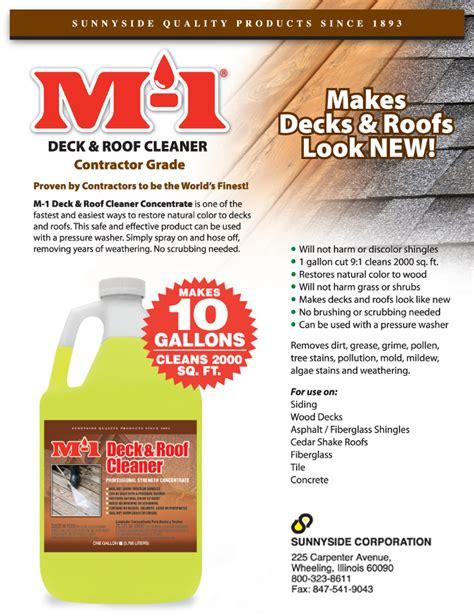 gal deck  roof cleaner drg  home depot