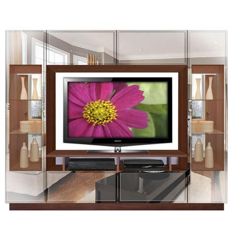 sawyer entertainment center contemporary glass doors