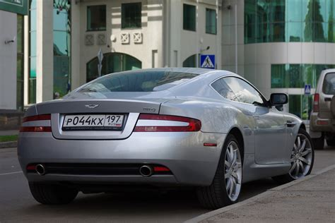 aston martin db coupe pictures information