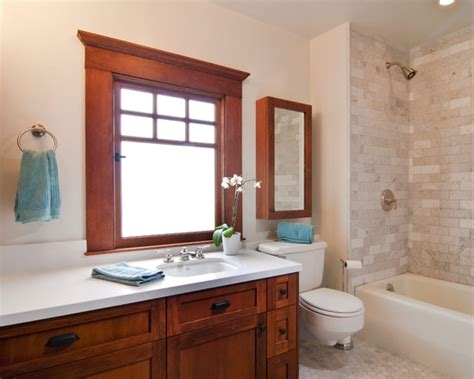 Craftsman Style Mirror Bathroom Design Ideas, Pictures