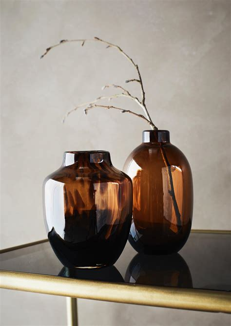 Animal Print Amber Vase By Madam Stoltz From The Ted Few