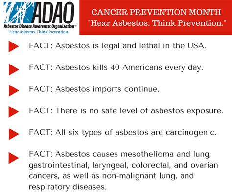 february  national cancer prevention month  save