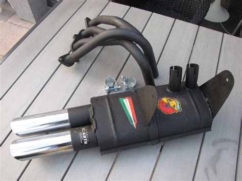 Fiat Abarth Exhaust by Fiat 850 Fiat Abarth 1000 Ots Abarth Uitlaat 001