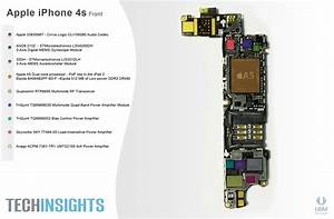 Iphone 4s Internal Parts Diagram