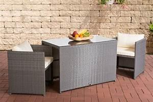 Gartenmöbel 2 Personen : poly rattan balkon sitzgruppe botella rattan gartenm bel ~ Michelbontemps.com Haus und Dekorationen