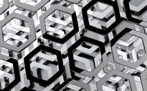 Grey 3d Wallpaper by Wallpapers 3d Honeycomb Wallpapers