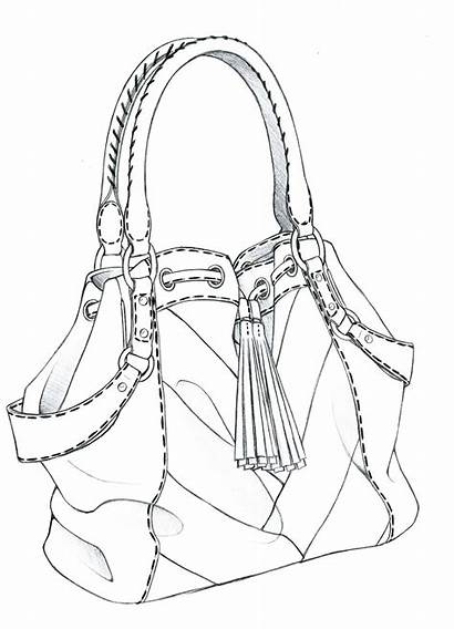 Drawing Bags Bag Sketches Illustration Drawings Technical