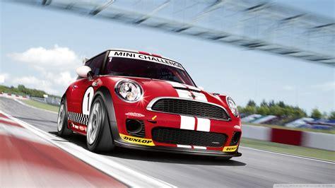 Mini Cooper Race Car 4k Hd Desktop Wallpaper For 4k Ultra