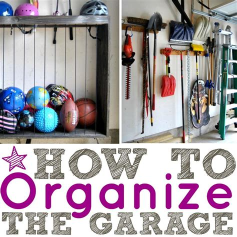 how to organize garage how to organize a garage that is filled with clutter
