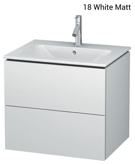 Duravit L Cube by Duravit L Cube 620mm 2 Drawers Vanity Unit With Me By