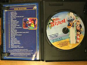 Lilo and stitch is like toy story (1 and 2) and monsters inc. Lilo And Stitch (DVD, 2002) Great Condition With Case Disney 786936165142   eBay