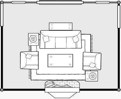 Simple House Plans With Photos Of Interior Placement by Furniture Arrangement