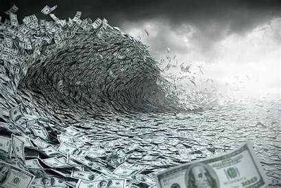 Money Ocean Flows Emerging Markets Etf Floods