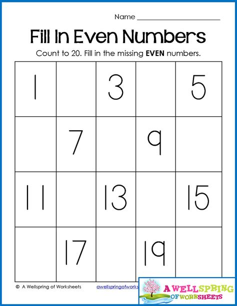 trace numbers 1 20 write and fill in the numbers