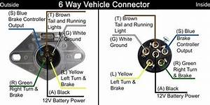 Curt 6 Way Trailer Plug Wiring Diagram