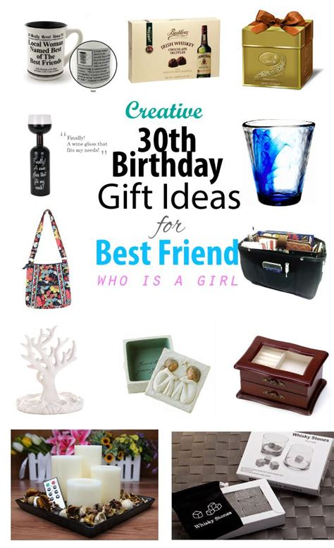 Creative 30th Birthday Gift Ideas For Female Best Friend  30th Birthday, Best Friends And Birthdays