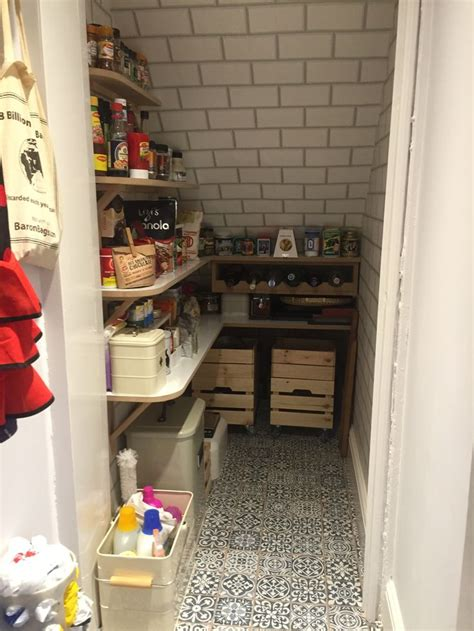 Making your under the stairs closet into a pantry is a great way to maximize under utilized space. 23 best Pantry under stairs images on Pinterest | Households, Organization ideas and Butler pantry