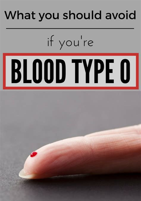 What You Should Avoid If You're Blood Type 0 Zoomzeeorg