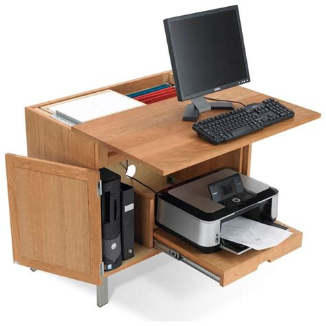 desk with printer cabinet 17 best images about computer desk ideas on pinterest