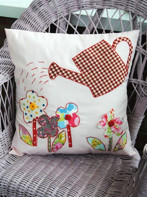 applique ideal applique cushion floral craft kit ideal mothers day inc