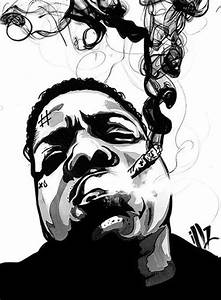 biggie smalls. art by miss illicit | art | Pinterest | Art