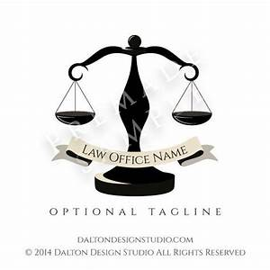 Lawyer Logo - Premade Law Firm Logo Design - Scales of ...