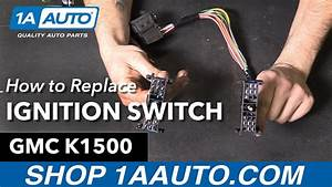 How To Replace Install Ignition Starter Switch 1995
