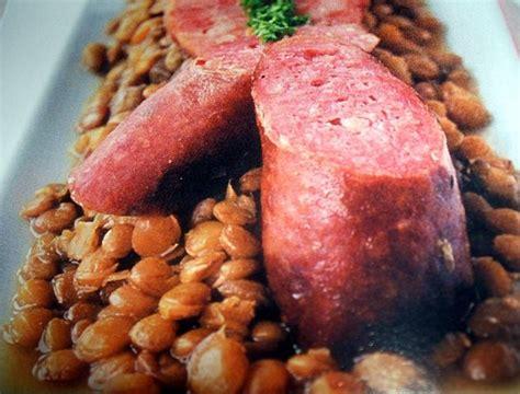 cuisiner saucisse de morteau recette des lentilles aux saucisses de morteau recettes