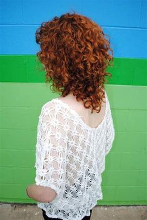 Beautiful curly layered haircut style ideas 23 Fashion Best