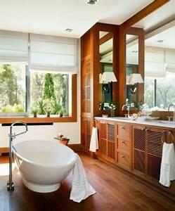 Bois Pour Salle De Bain : salle de bain bois pour une d co au confort maxi deco cool ~ Melissatoandfro.com Idées de Décoration
