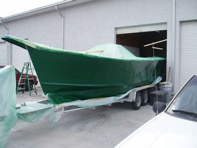 How To Spray Paint A Fiberglass Boat by Boat Painting Gel Coat Painting Fiberglass Boat Paint