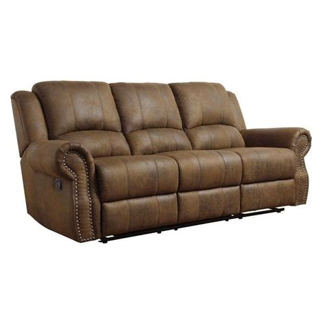 furniture reclining loveseat coaster furniture 650151 sir rawlinson traditional
