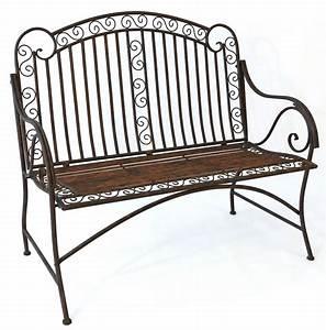 Gartenbank Metall Holz : gartenbank metall 3 sitzer details zu exclusive ~ Michelbontemps.com Haus und Dekorationen