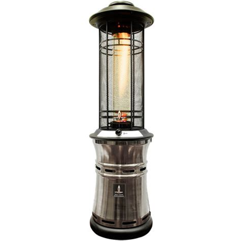 costco patio heater lava heat ember gun metal collapsible patio heater 187