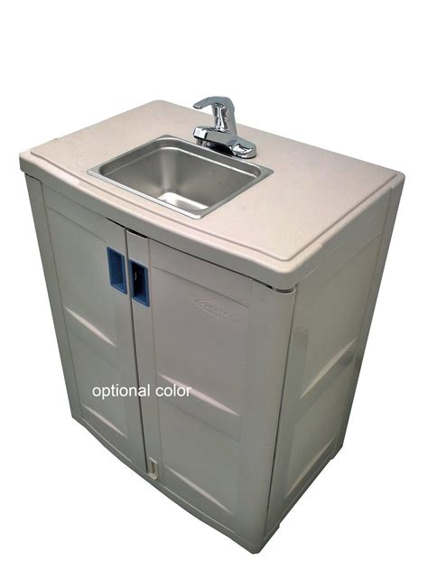 self contained portable handwash sink water