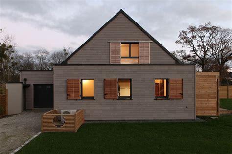 maison bois b 233 ton et r 233 glementation thermique un bon compromis construire tendance