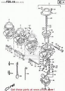 Suzuki Rf900r 1997  V   E02 E04 E22 E24 E25 E34