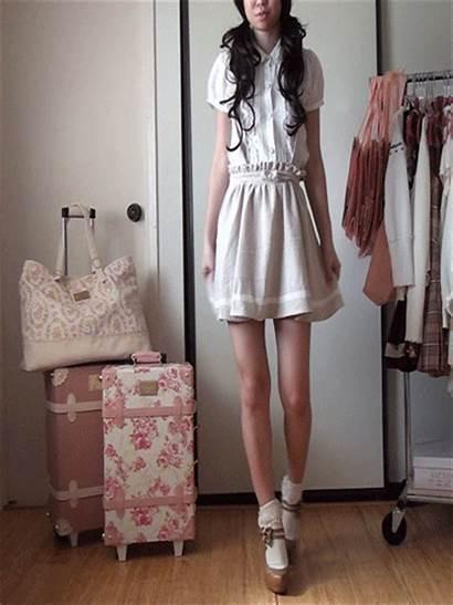 Lisa Liz Socks Skirt Lace Down Strap