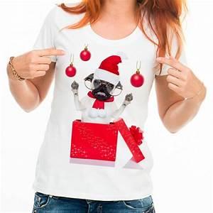 Box Surprise Femme : t shirt femme blanc bouledogue surprise les z 39 animaux de ~ Preciouscoupons.com Idées de Décoration