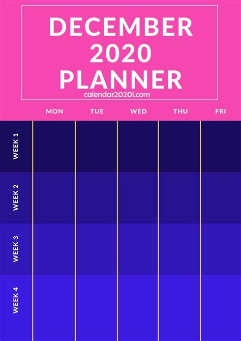 planners monthly printable templates calendar