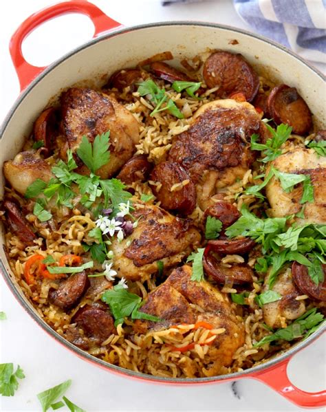one pot chicken and brown rice recipe dishmaps